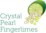 Crystal Pearl Finger Limes Logo